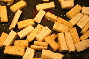 Stegning af tofu